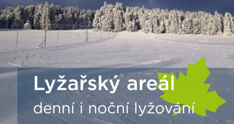 Lyžařský areál - Javorník na Šumavě