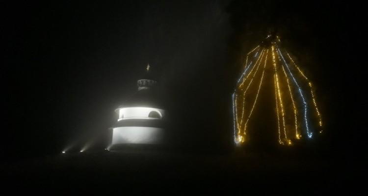 Rozsvícení vánočního stromu na Javorníku