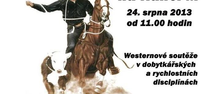 Rodeo v Malenicích 24.8.2013