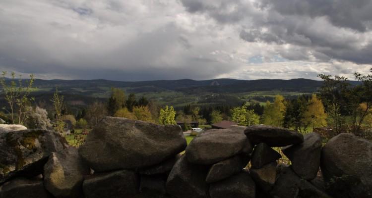 Panorama z Krankot