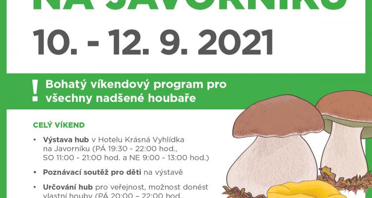 Houbařský víkend na Javorníku 2021
