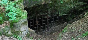 Strašínská jeskyně - vchod