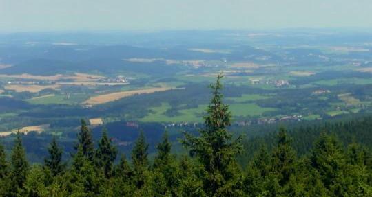 Pohled do kraje pod Javorníkem