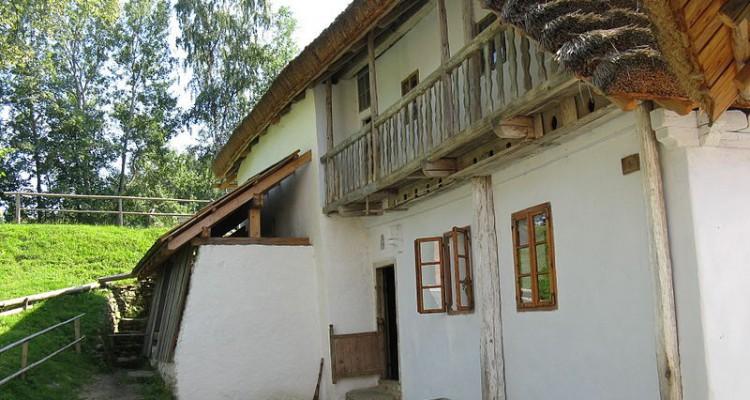 Skanzen Hoslovice – vodní mlýn