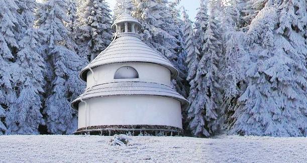 Kaplicka v zimě
