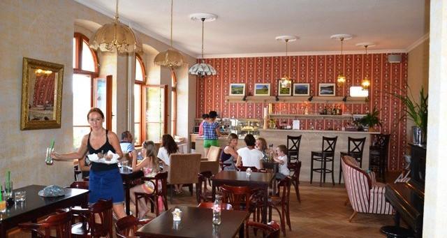 Restaurace a kavárna Nebespán