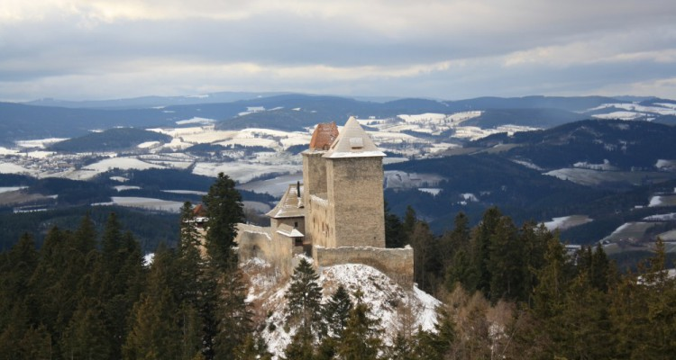 Zima na hradě i v podhradí