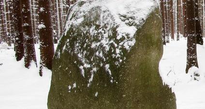 Měs. kámen v zimě