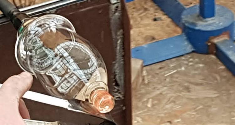 sklářská huť Stachy - výroba