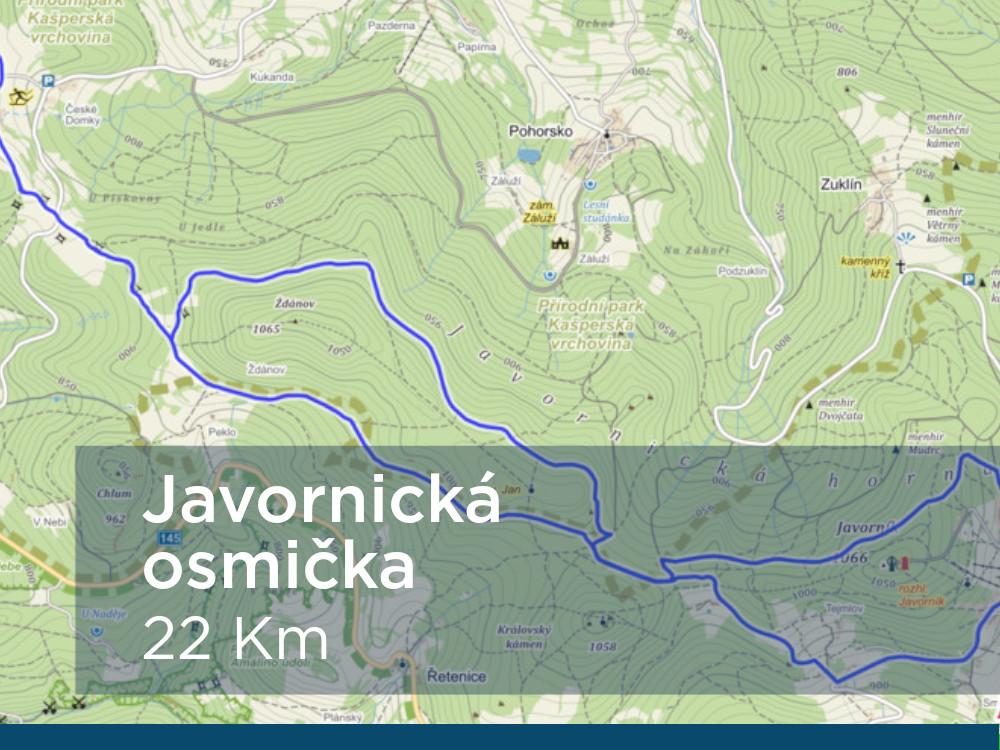 Trasa - Javornická osmička