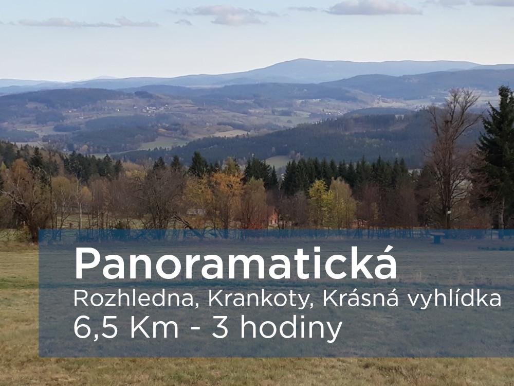 Pěší výlet - panoramatická